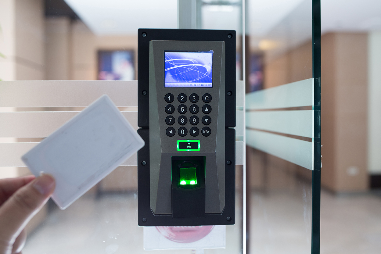 Access control - Biometric Card Reader Security Systems