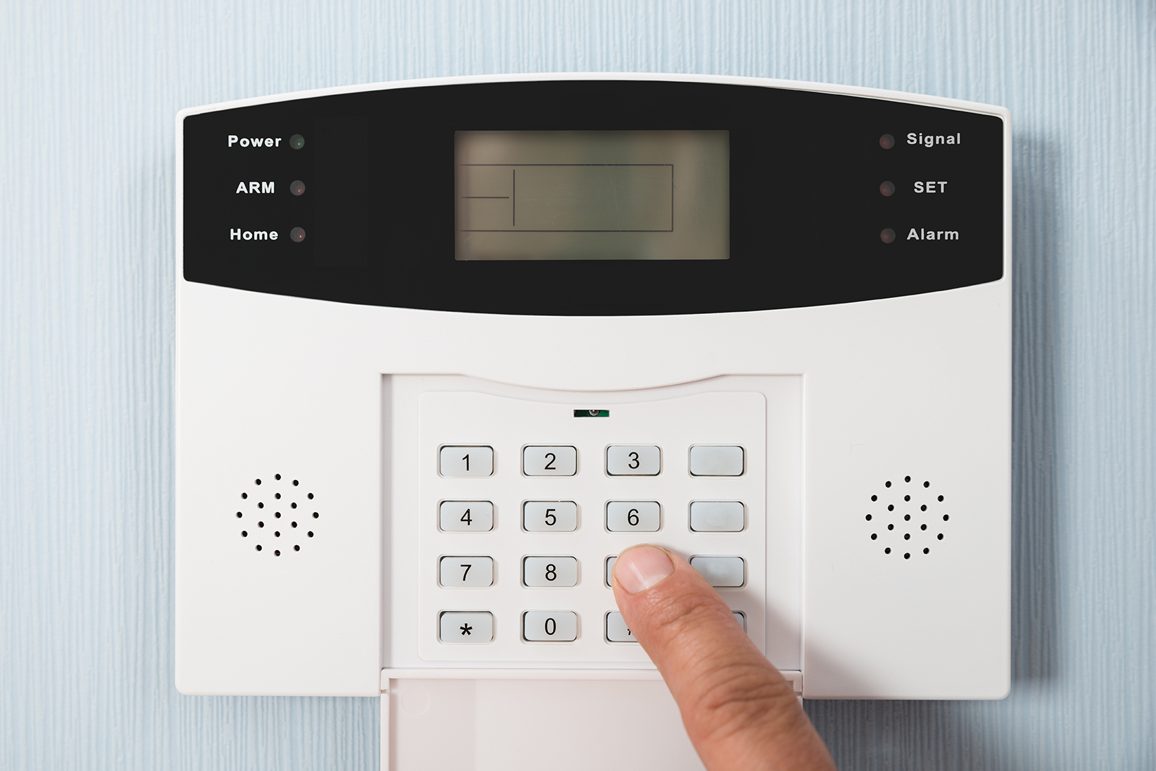 Alarm System controller with keypad Security Systems